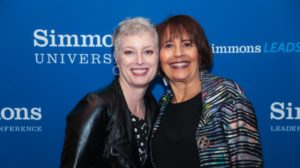 two women at the simmons leadership conference international