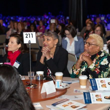 guests at a conference