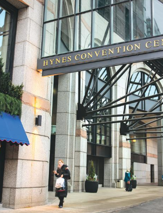 Hynes Convention Center - outside
